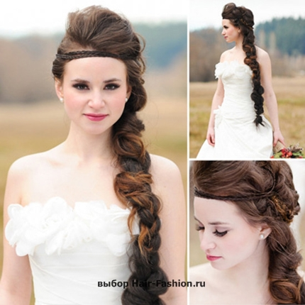 Wedding hairstyles with braid -001