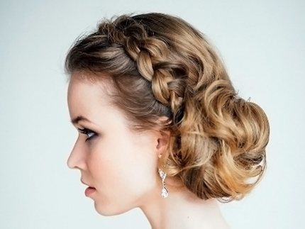 Wedding hairstyles with braid -003