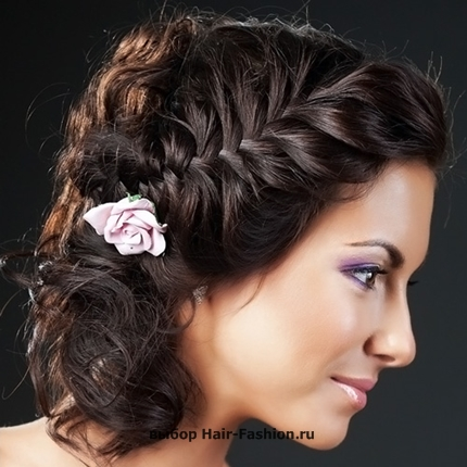 Wedding hairstyles with braid -004