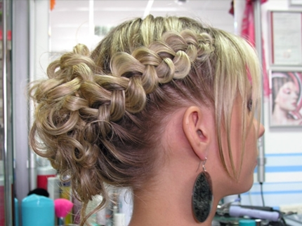 Wedding hairstyles with braid -007