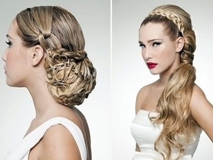 Wedding hairstyles with braid -010