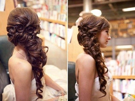 Wedding hairstyles with braid -017