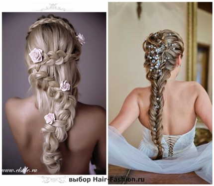 Wedding hairstyles with braid-1