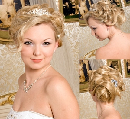 Wedding hairstyles with tiara -005