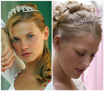 Wedding hairstyles with tiara-3
