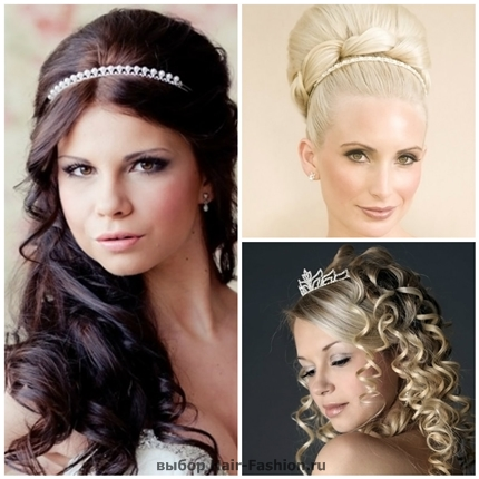 Wedding hairstyles with tiara-31
