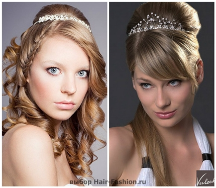 Wedding hairstyles with tiara-5
