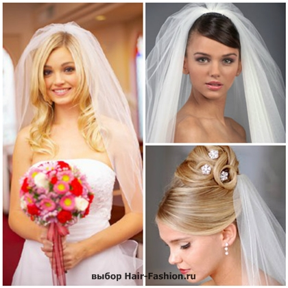 wedding hairstyles with a veil-1