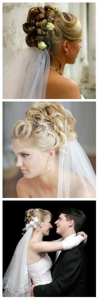wedding hairstyles with a veil-11