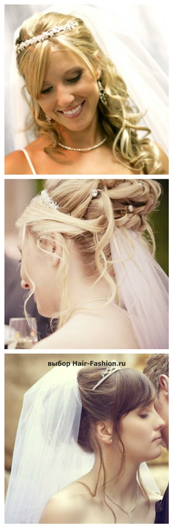 wedding hairstyles with a veil-8