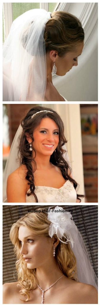 wedding hairstyles with a veil-9